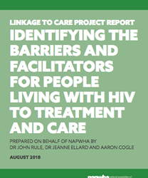 Identifying the barriers and facilitators for people living with HIV to treatment and care