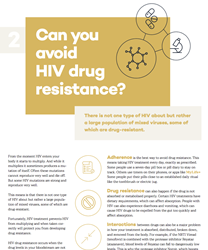 Factsheet 2 – HIV Drug Resistance