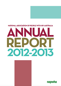 2012-2013 NAPWHA Annual Report