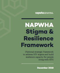 National Stigma and Resilience Framework