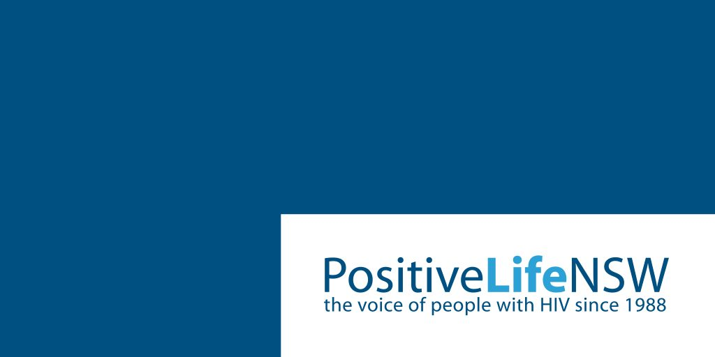 Positive Life NSW (PLNSW) logo