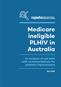 Medicare ineligible PLHIV in Australia Report