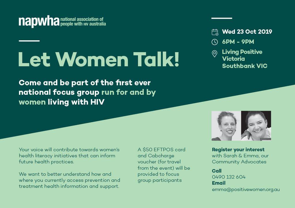 Let Women Talk invitation