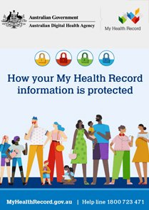 How your My Health Record information is protected factsheet cover