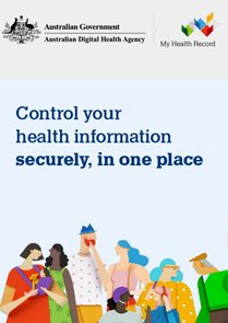 Control your health information securely in one place fact sheet cover