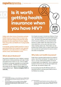 10 Treatment Factsheet – Is it worth getting health insurance?